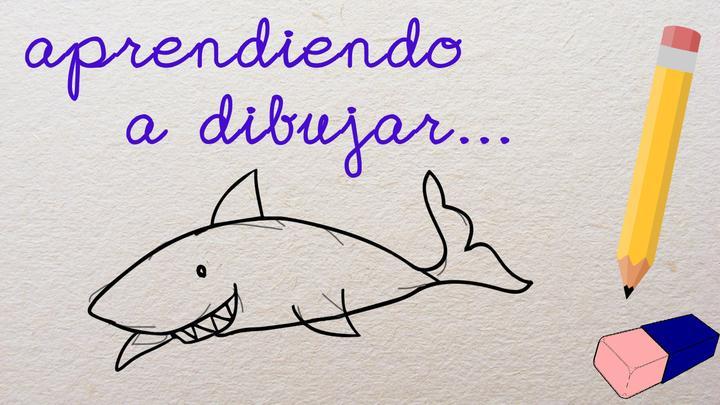 Aprendiendo a Dibujar... Un Tiburón