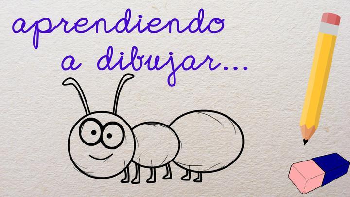 Aprendiendo a Dibujar... Una Hormiga