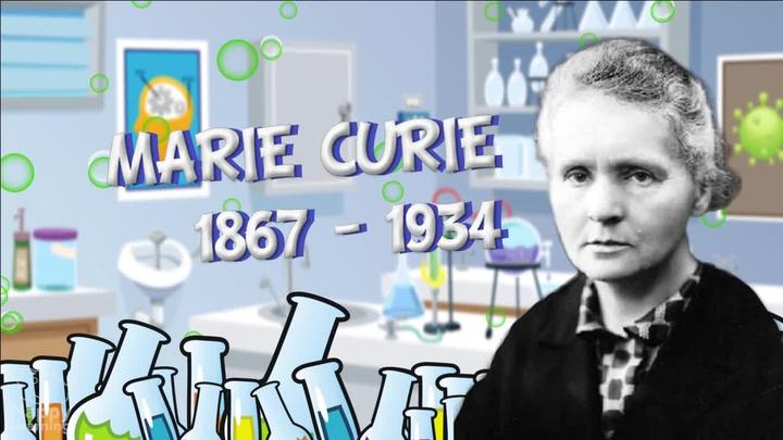 Biographies for kids: Marie Curie