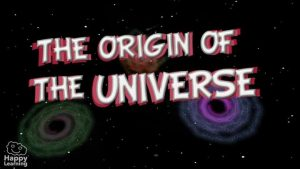 educational video about the origin of the universe