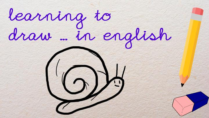 Learning to Draw... A Snail