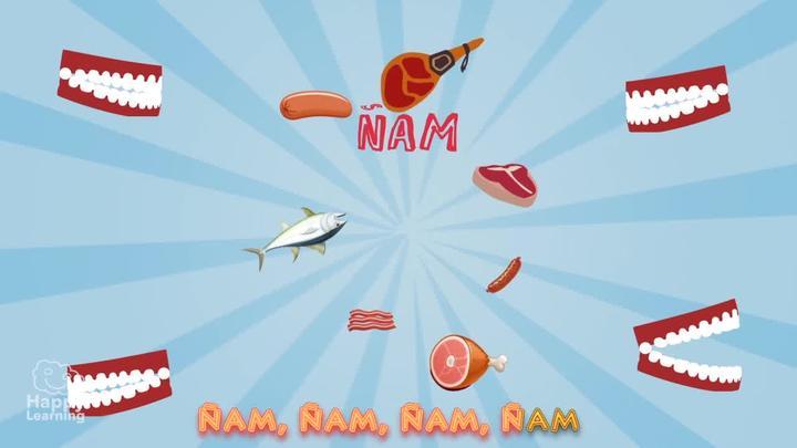 Canción: Ñam, Ñam, Ñam (Karaoke)