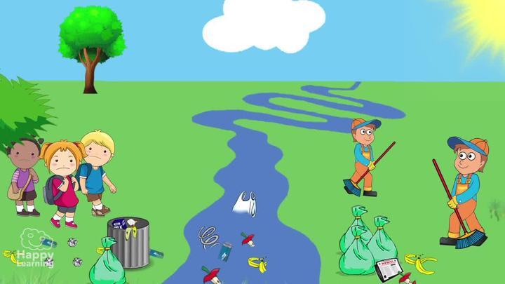 Canción: Cuidemos La Naturaleza | Happy Learning