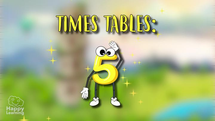 5 Times Table: Easy Peasy Maths