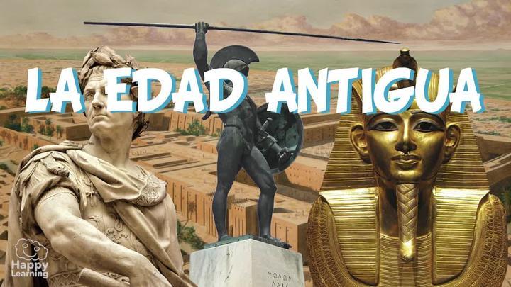 imagen sobre lugares importantes de la edad antigua
