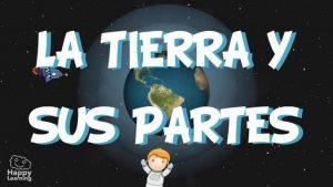 La Tierra y sus partes