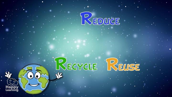 Reduce, Reuse and Recycle to enjoy a better life