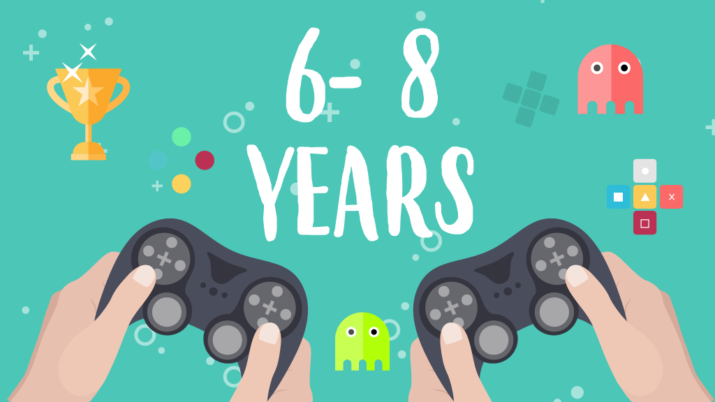 6 to 8 years old