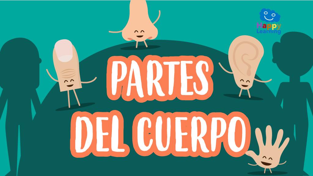 Sopa de Letras: Las Partes del Cuerpo - Juegos para Niños | Happy ...