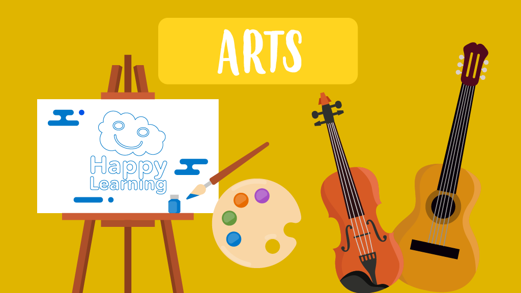Arts games for kids