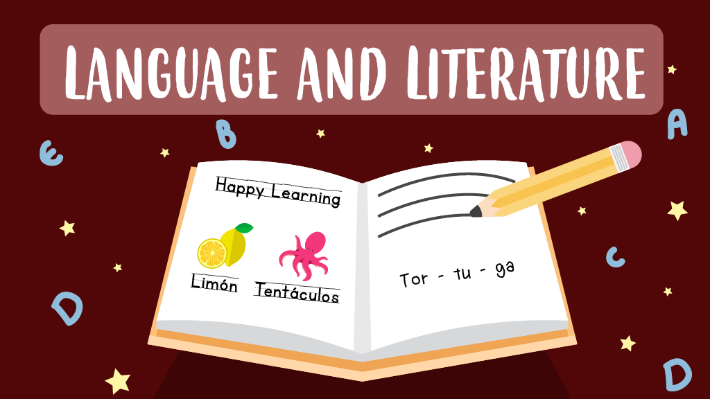 Language and literature games for kids
