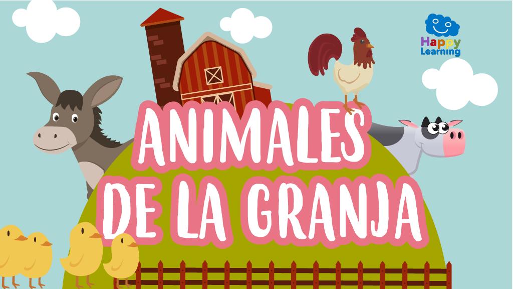 Sopa De Letras: Animales De La Granja