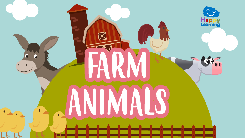 Word Search: Farm Animals