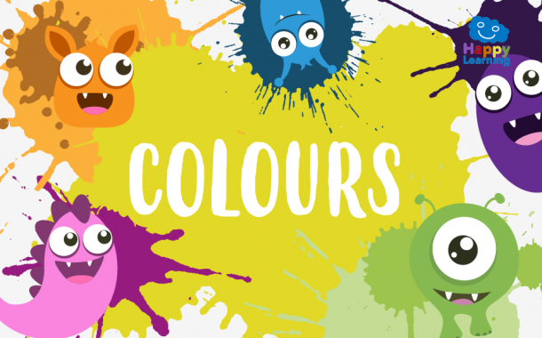Word Search: The Colours