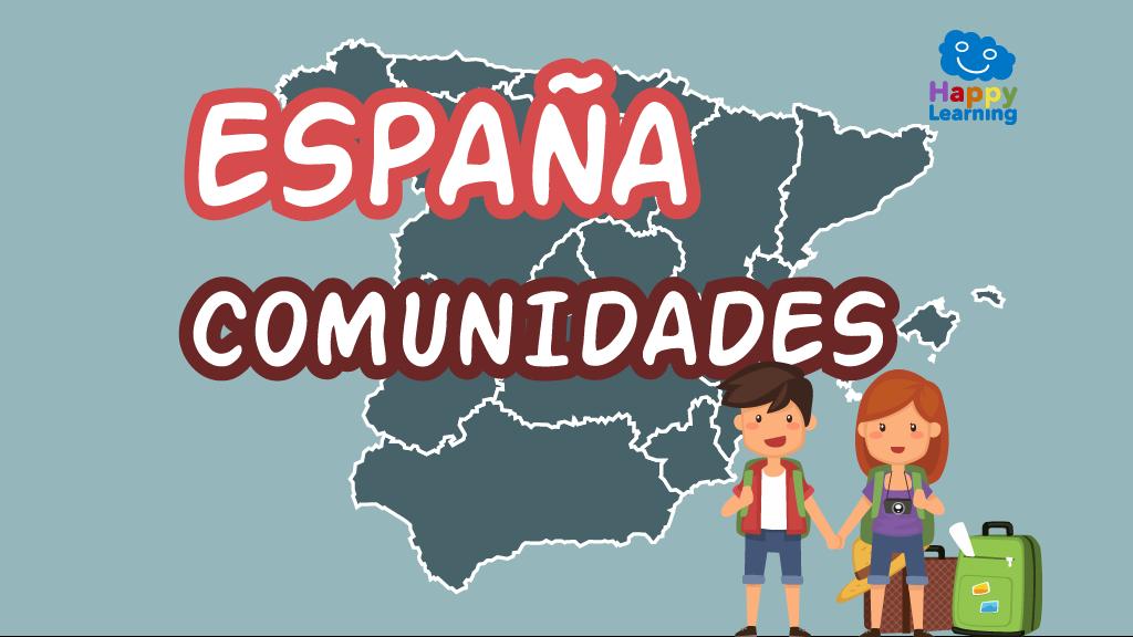Puzzle: Las Comunidades de España