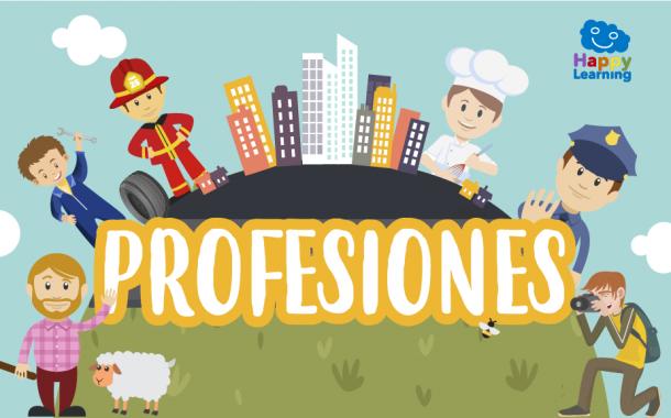 Sopa de Letras: Las Profesiones