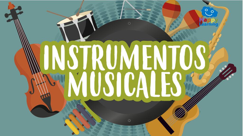 Sopa de Letras: Instrumentos Musicales