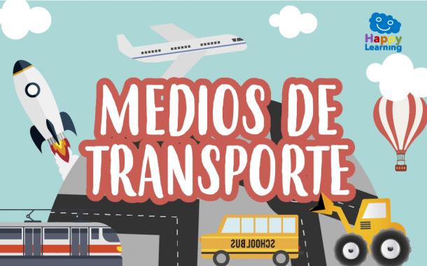 Sopa de Letras: Los Medios de Transporte