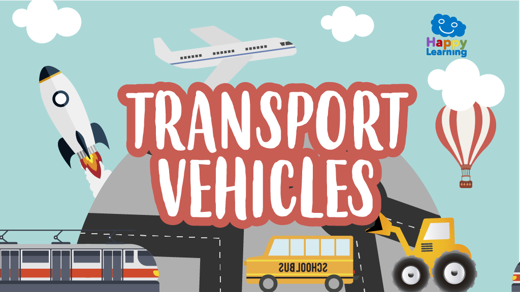 Word Search: Transport Vehicles