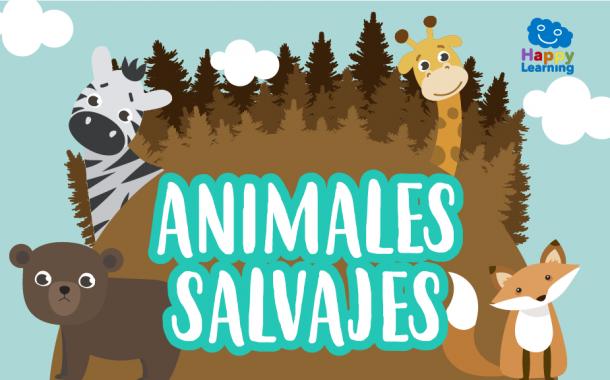 Sopa de Letras: Animales Salvajes