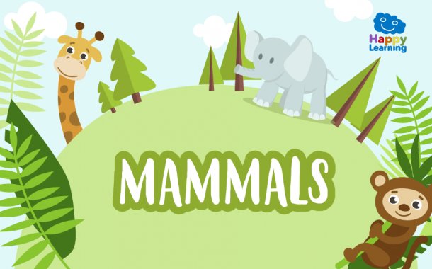 Word Search: The Mammals