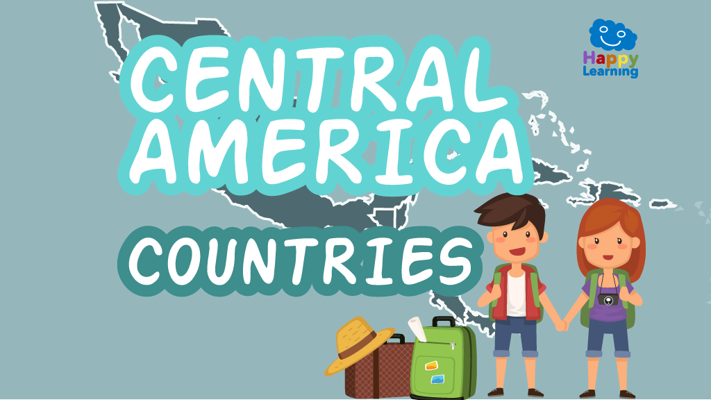 Puzzle: Countries of Central America - Games for Kids | Happy Learning