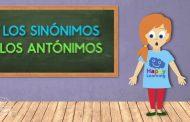 Los Sinónimos y Antónimos