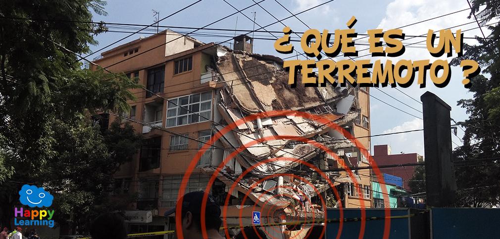 ¿Qué es un terremoto? Las placas tectónicas