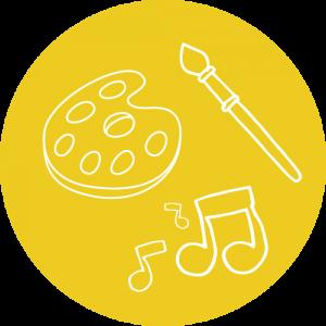 Música canciones y karaoke logo
