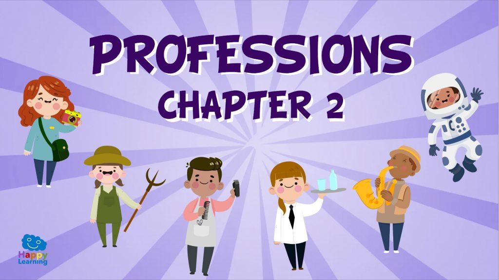 Vocabulario de las profesiones en inglés (2)