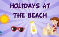 Vocabulario de las vacaciones en la playa en Inglés