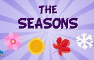 Vocabulario de las estaciones del año en Inglés