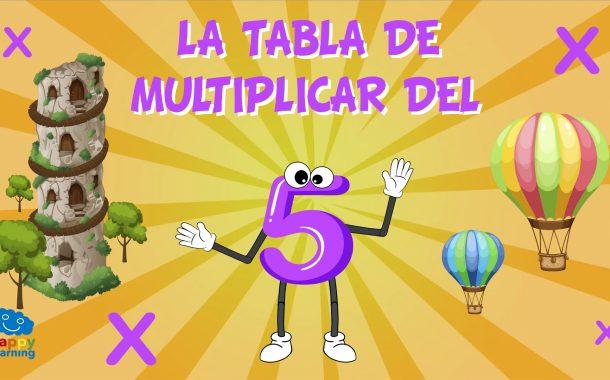 La Tabla de Multiplicar del 5
