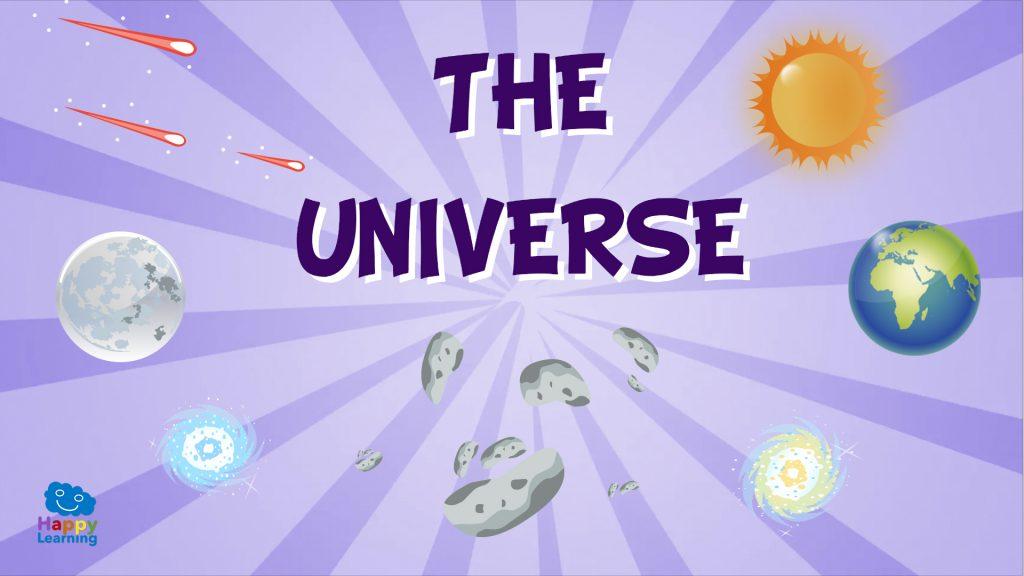 Vocabulario del universo en inglés