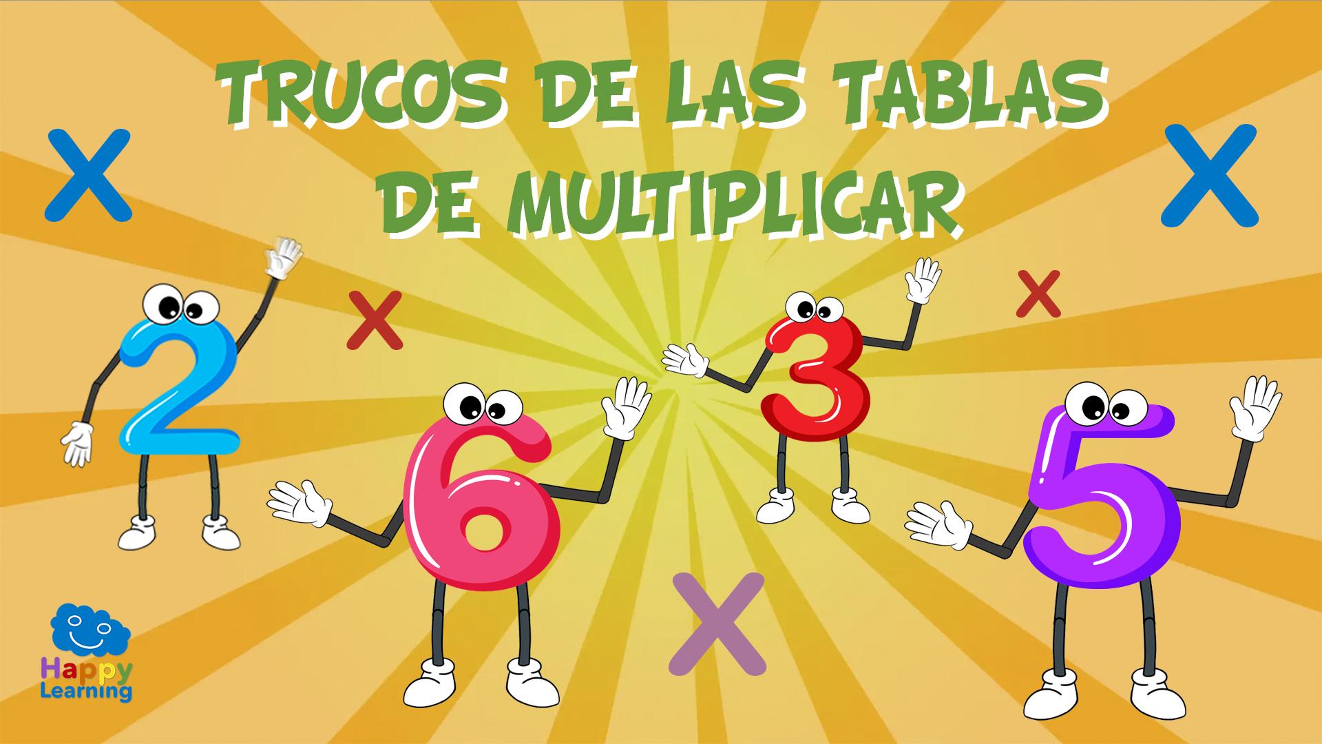 Trucos de las tablas de multiplicar