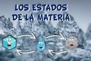 Los estados de la materia y sus cambios. Sólido, líquido y gaseoso
