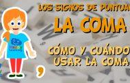 Los signos de puntuación: la coma. Cómo y cuándo usar la coma.