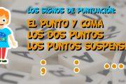 Los signos de puntuación: El punto y coma, los dos puntos y los puntos suspensivos