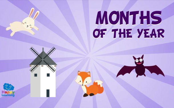 Vocabulario de los meses del año en Inglés