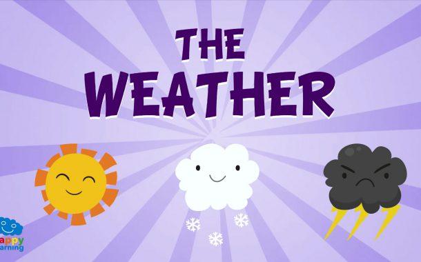 Vocabulario del tiempo meteorológico en Inglés