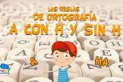 Las reglas de ortografía: A CON H Y SIN H
