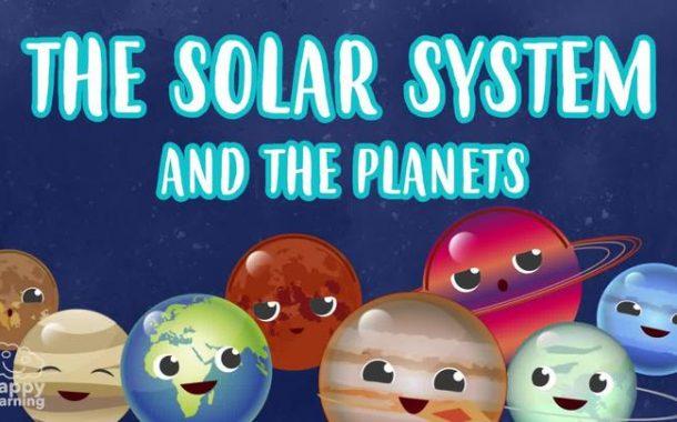 Vocabulario del Sistema Solar en inglés. Los planetas.