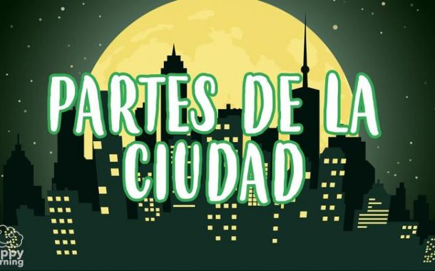 Parts of the City in Spanish for Children