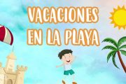 Holidays at the Beach in Spanish for Children