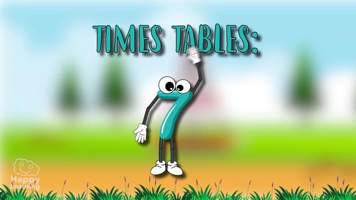 7 Times Table: Easy Peasy Maths