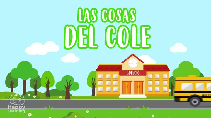 Parts of the School in Spanish! Vocabulary for Children
