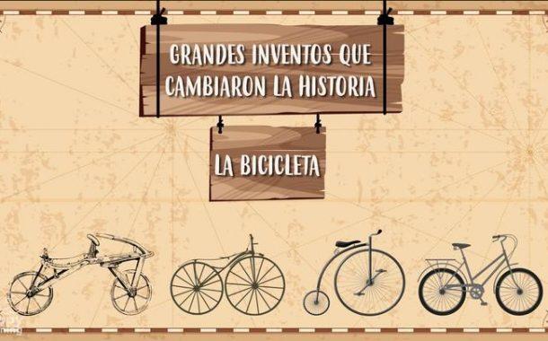 LA BICICLETA. Grandes inventos que cambiaron la historia