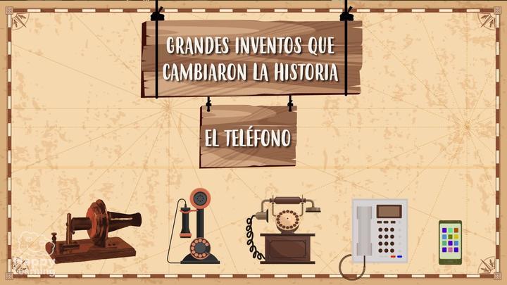 ¿CÓMO SE INVENTÓ EL TELÉFONO?  Grandes inventos que cambiaron la historia
