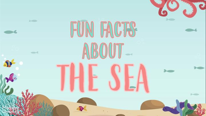INTERESTING FACTS ABOUT SEAS AND OCEANS
