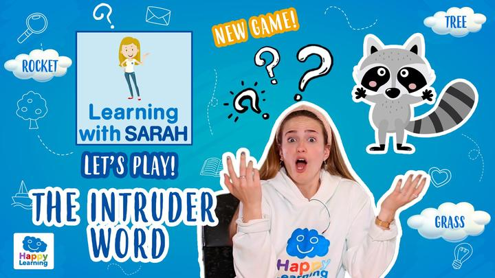 THE INTRUDER WORD 1 GAME